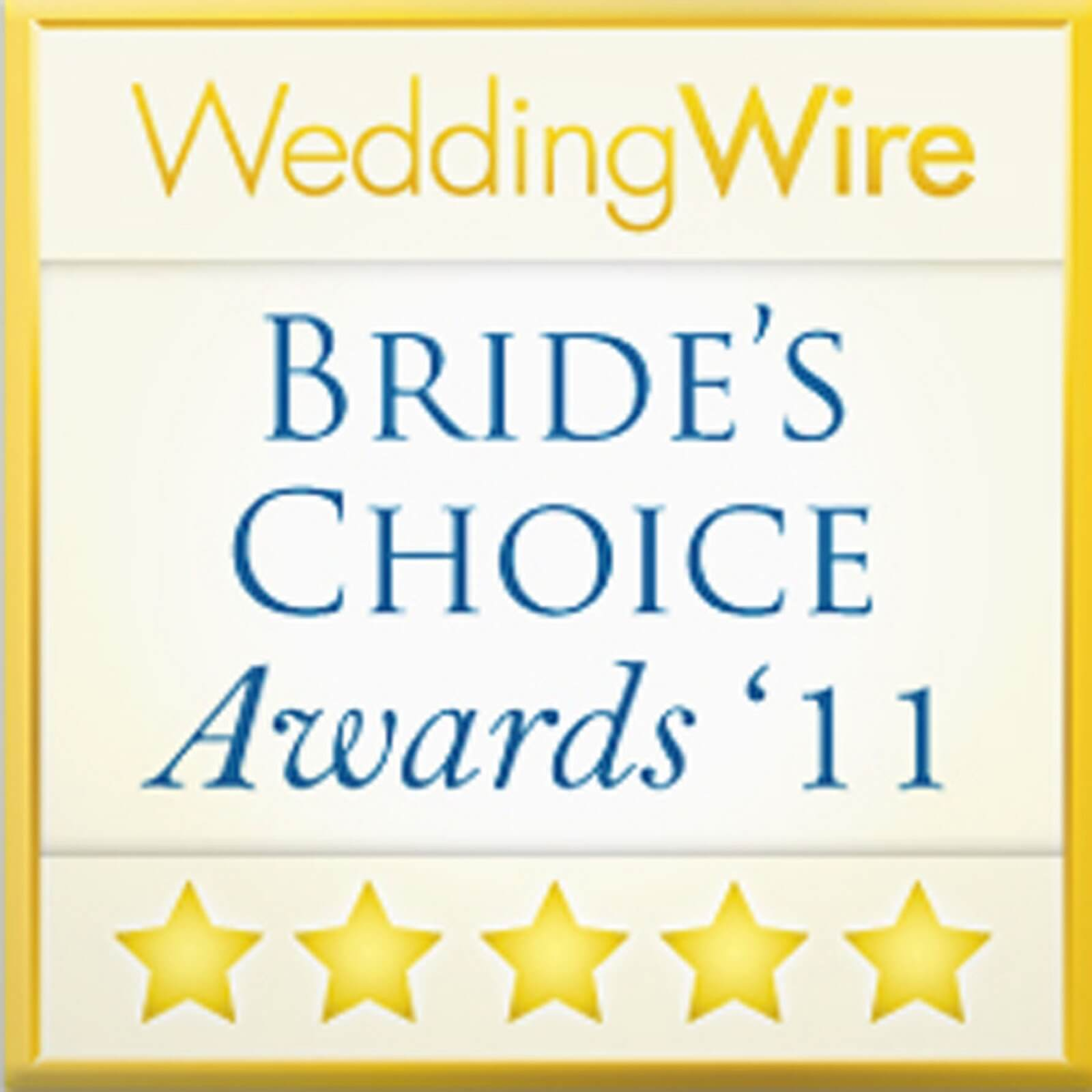 e Bride's Choice Award 2011