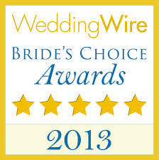 Wedding Wire Bride's Choice 2013 Award