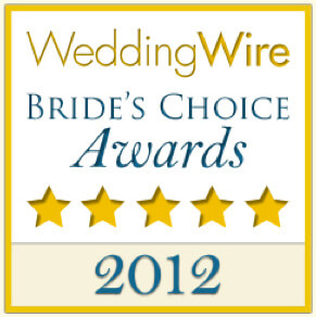 Wedding Wire 2012 Award